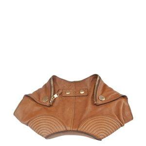 Alexander McQueen De Manta Brown Leather 171704